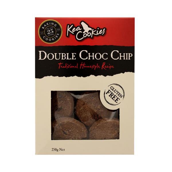 Kea Cookies Double Choc Chip Gluten Free 250g
