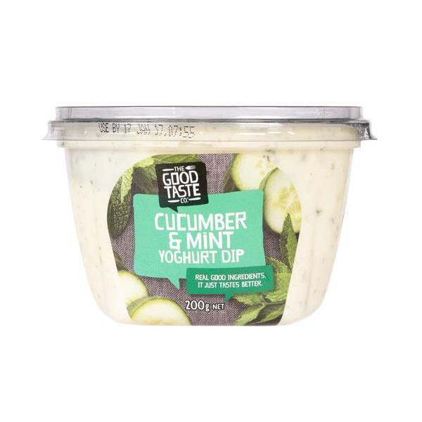 The Good Taste Co. Dip Cucumber & Mint Yoghurt 200g