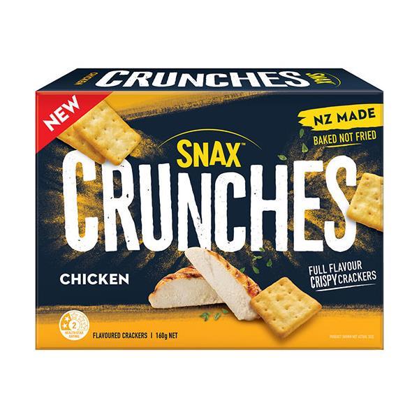Griffins Snax Crunches Crackers Chicken 160g