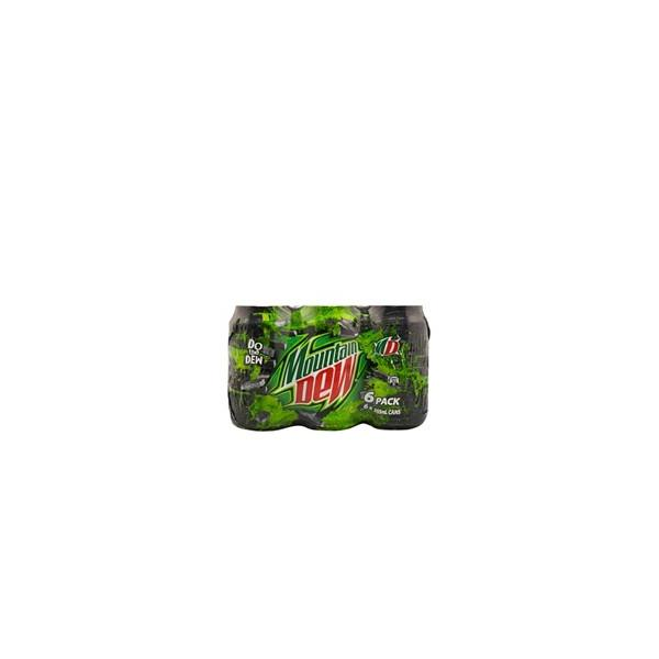 Mountain Dew Soft Drink 2130ml (355ml x 6pk)