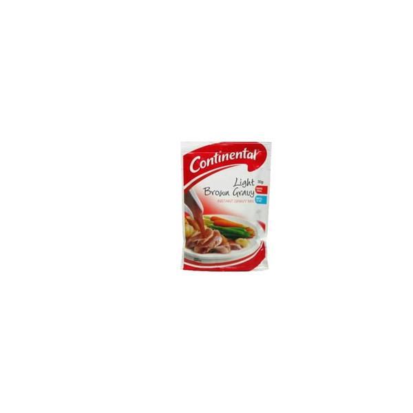 Continental Instant Gravy Mix Light Brown sachet 30g