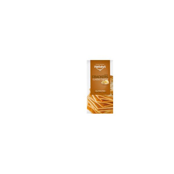 Wellabys Crackers Cheese Gluten Free 100g