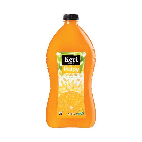 Keri Fruit Drink Pulpy Orange 3l
