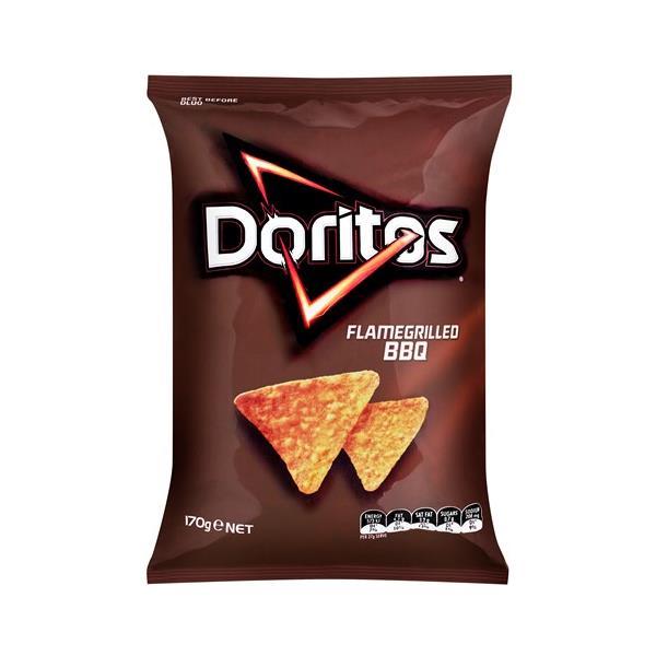Doritos Corn Chips Bbq 170g