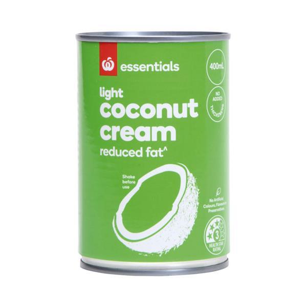 Essentials Coconut Cream Lite Reduced Fat 400ml