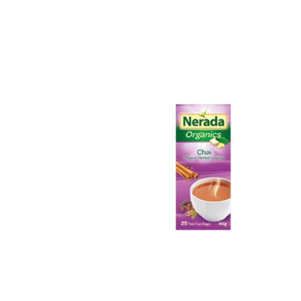 Nerada Organic Herbal Tea Chai tea bags 25pk