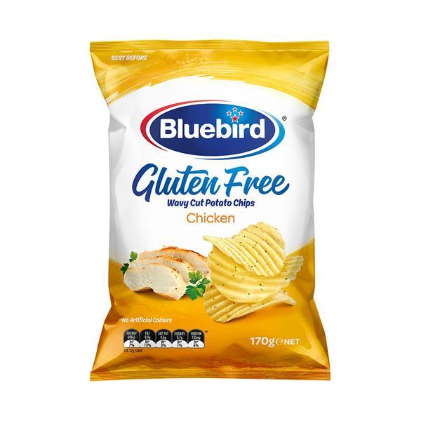 Bluebird Gluten Free Potato Chips Chicken 170g