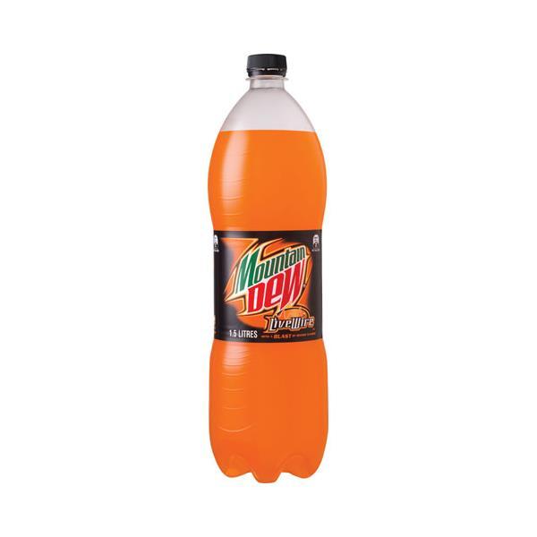 Mountain Dew Soft Drink Live Wire 1.5l