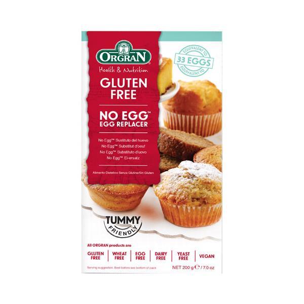 Orgran Egg Replacer Natural Gluten Free No Eggs 200g