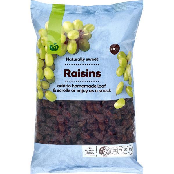 Countdown Raisins 600g