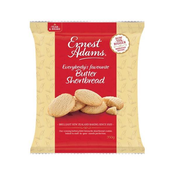 Ernest Adams Cookies Shortbread 350g