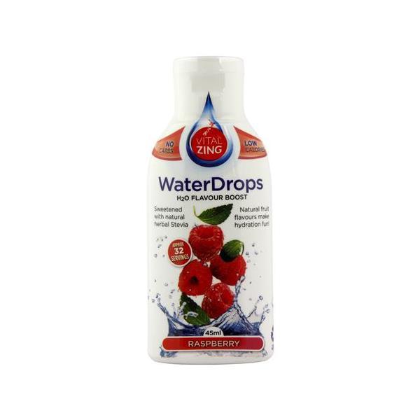 Vital Zing Water Drops Raspberry 45ml