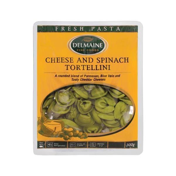 Delmaine Fresh Filled Pasta Cheese & Spinach Tortellini 300g