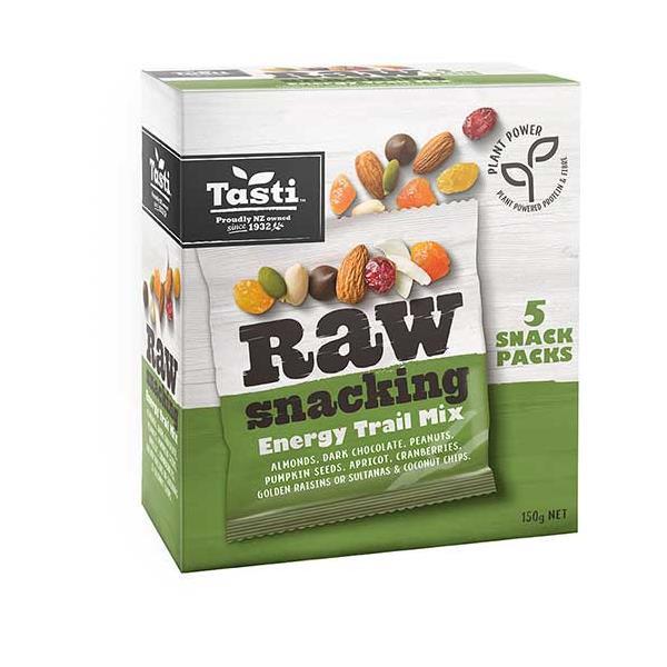 Tasti Raw Snacking Snack Mix Berry & Nut 5pk