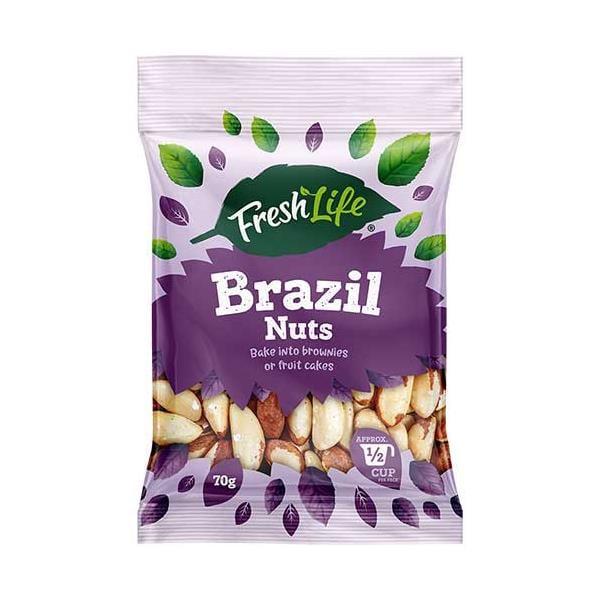 Freshlife Brazil Nuts 70g