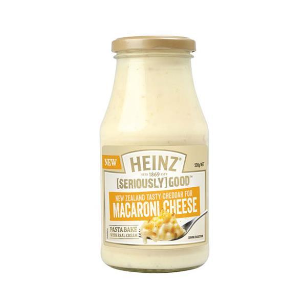Heinz Seriously Good Macaroni Cheese Pasta Sauce 500g