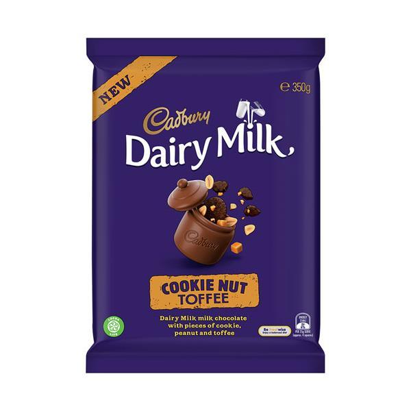 Cadbury Cookie Nut Toffee 350g