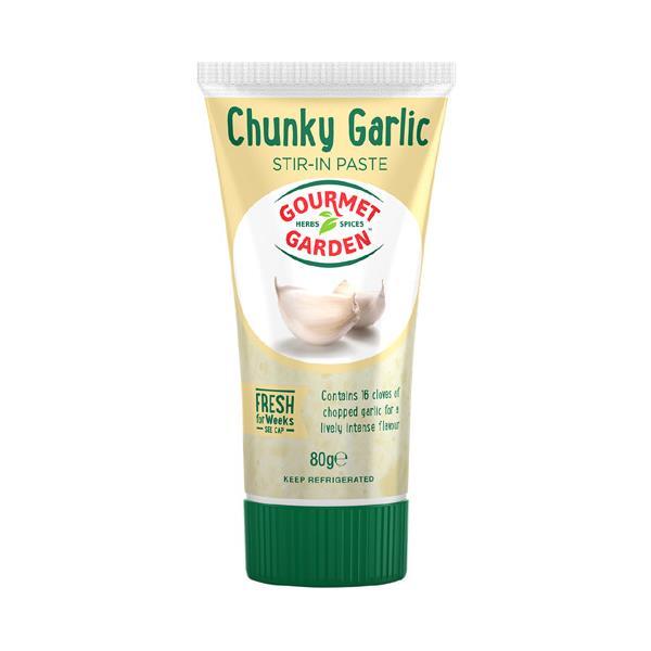 Gourmet Garden Garlic Chunky Crushed tube 80g