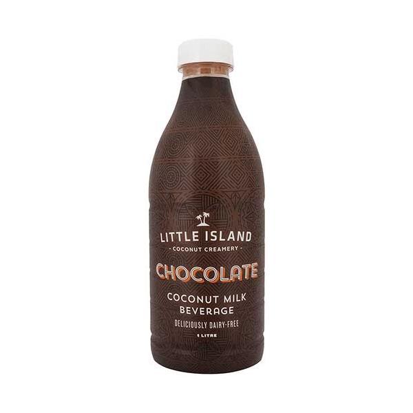 Little Island Flavoured Coconut Milk Chocolate 1l