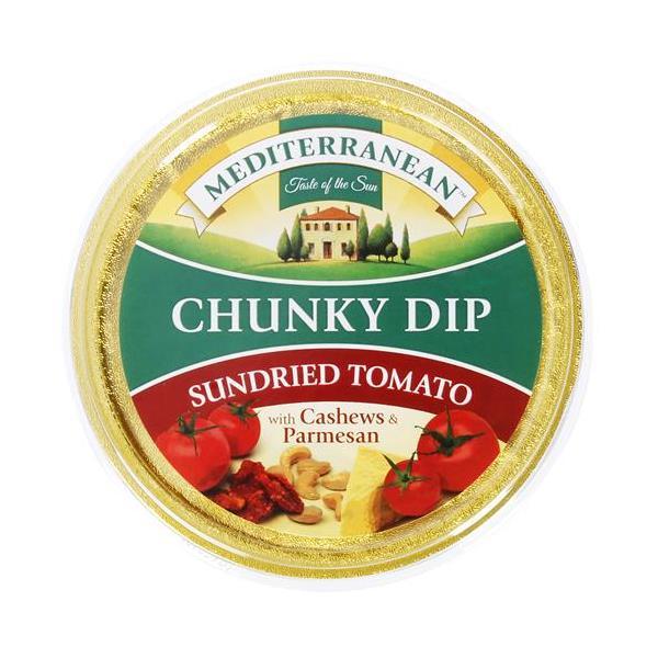 Mediterranean Dip Chunky Sundried Tomato 135g