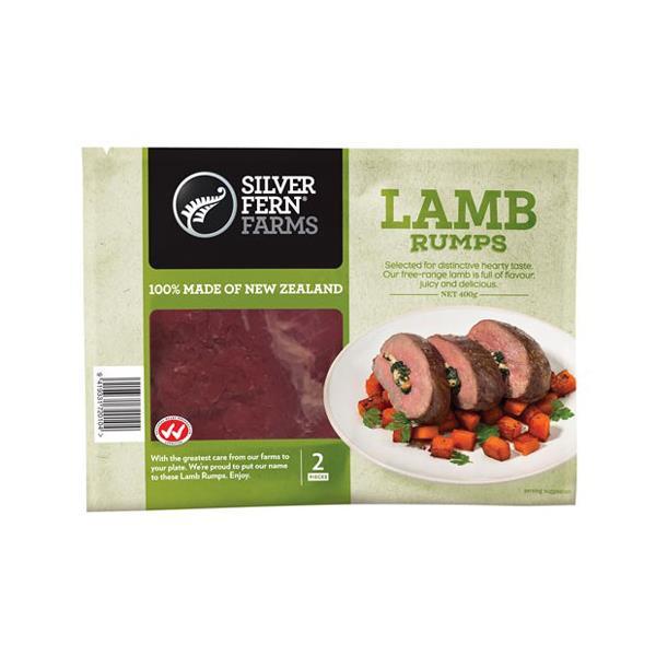 Silver Fern Farms Lamb Rump 400g