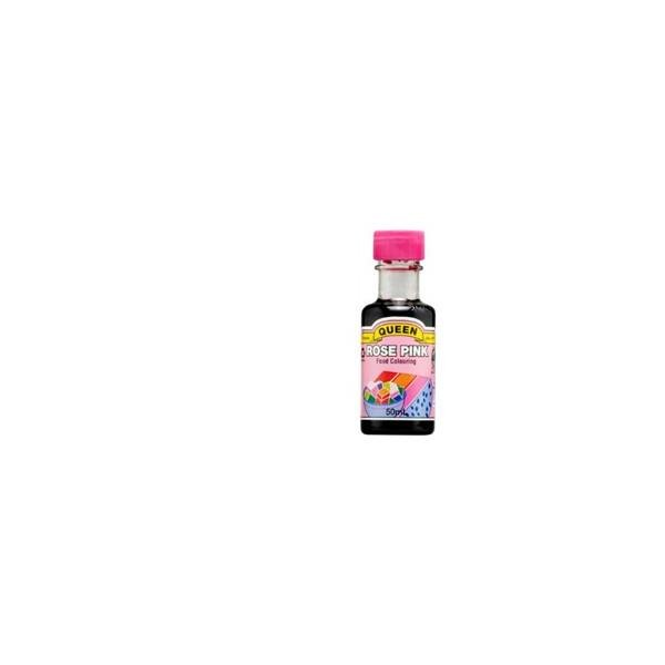 Queen Food Colour Rose Pink 50ml