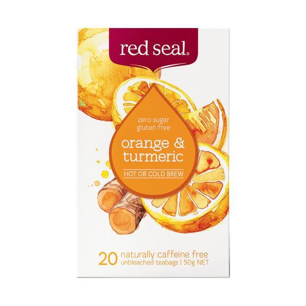 Red Seal Orange & Tumeric bags 20pk