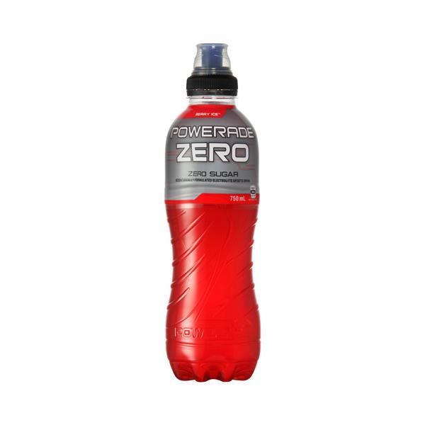 Powerade Zero Sports Drink Berry Ice 750ml