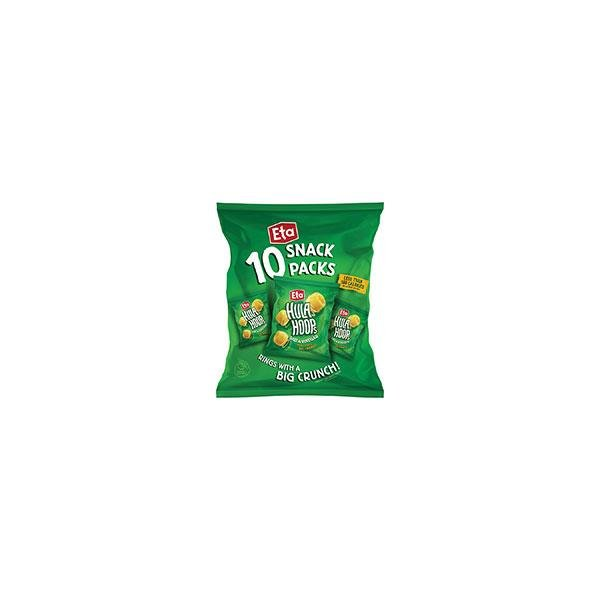 Hula Hoops Potato Rings Salt & Vinegar 140g  (14g x 10pk)