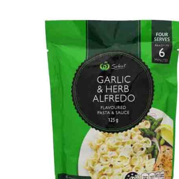 Countdown Pasta Dish Garlic & Herb Alfredo 125g