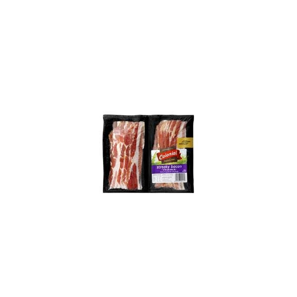 Colonial Supreme Streaky Bacon Twin Pack 2 X 225g 450g