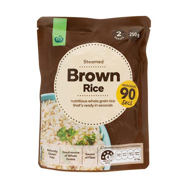 Countdown Brown Rice Microwave 250g