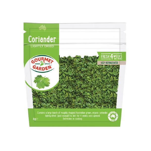 Gourmet Garden Coriander Lightly Dried packet 8g