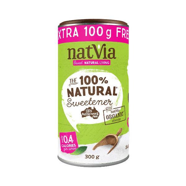 Natvia Sugar Substitute cannister 300g