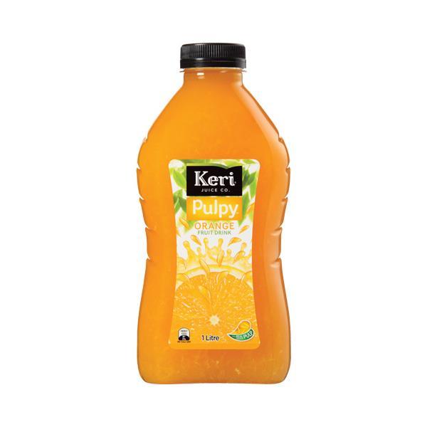 Keri Fruit Drink Pulpy Orange 1l