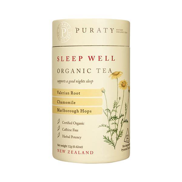 Puraty Potent Organic Herbal Tea Sleep Well 12g
