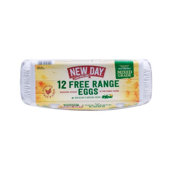 New Day Free Range Mixed Grade 582g (12pk)