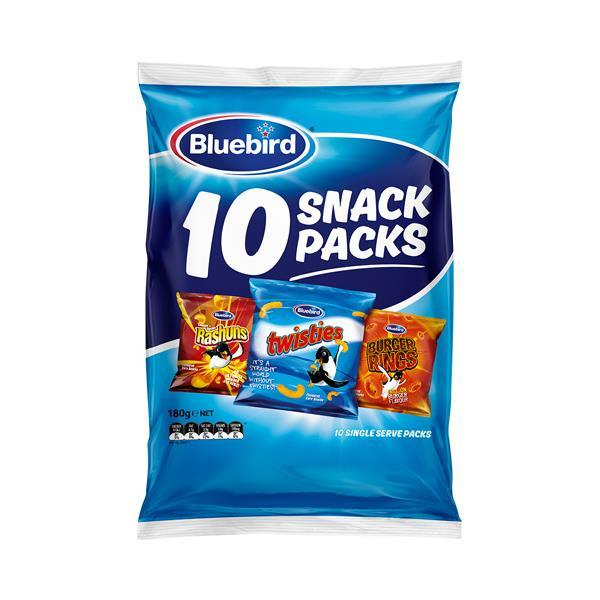 Bluebird Corn Snacks Cheese Combo 180g (10pk)