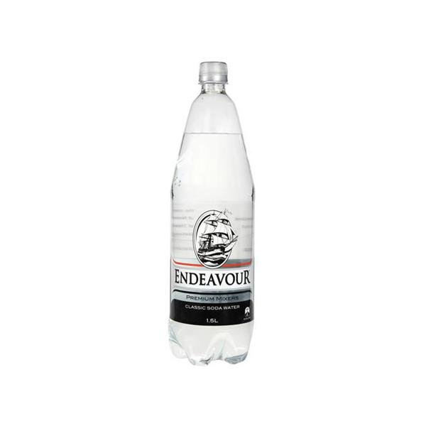 Endeavour Drink Mixers Classic Soda Water 1.5l