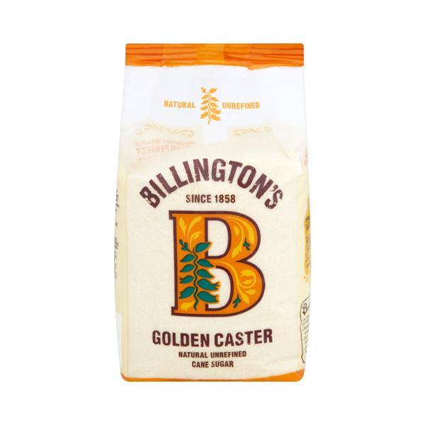 Billingtons Caster Sugar Golden Cane 1kg