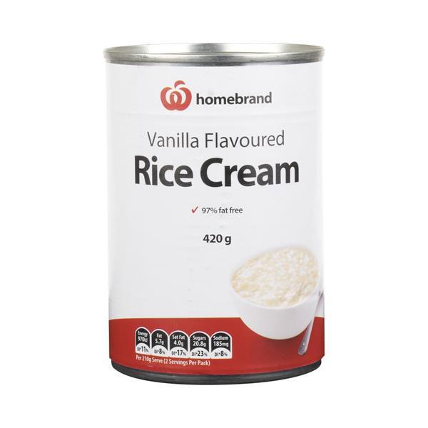 Homebrand Creamed Rice Rice Cream 420g