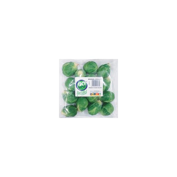 Fresh Produce Brussel Sprouts bagged 350g