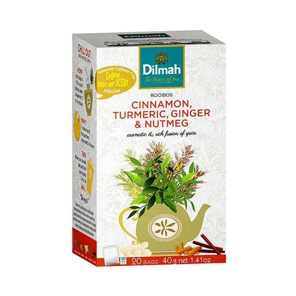 Dilmah Cinnamon Turmeric & Ginger 40g (20pk)