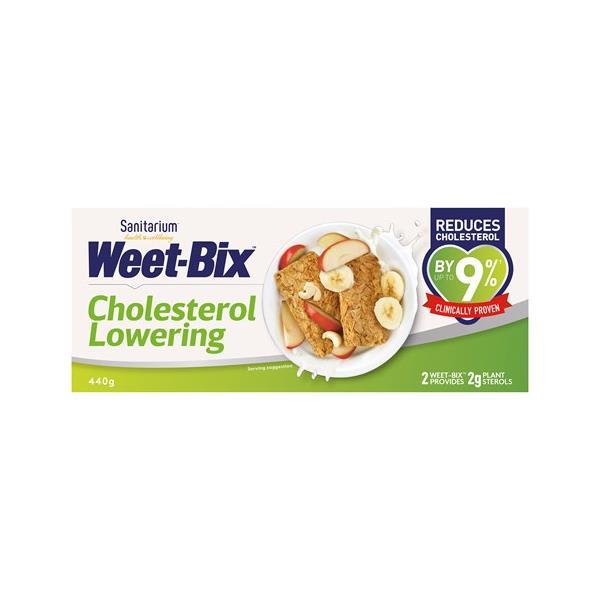 Sanitarium Weetbix Wheat Biscuits Lower Cholesterol 440g