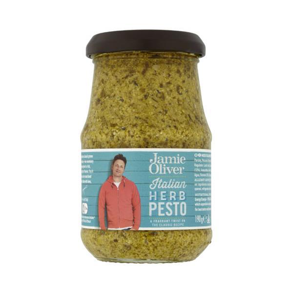 Jamie Oliver Pesto Italian Herb 190g
