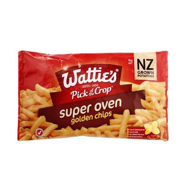 Wattie's Watties Oven Fries Original 1kg