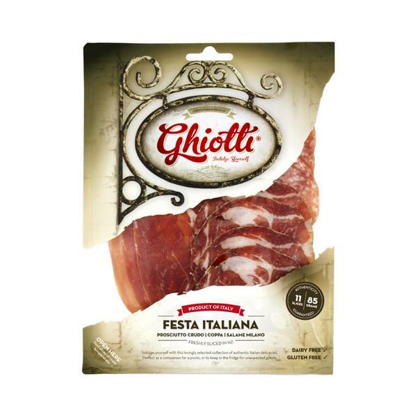 Ghiotti Prosciutto Fiesta Italiana 85g