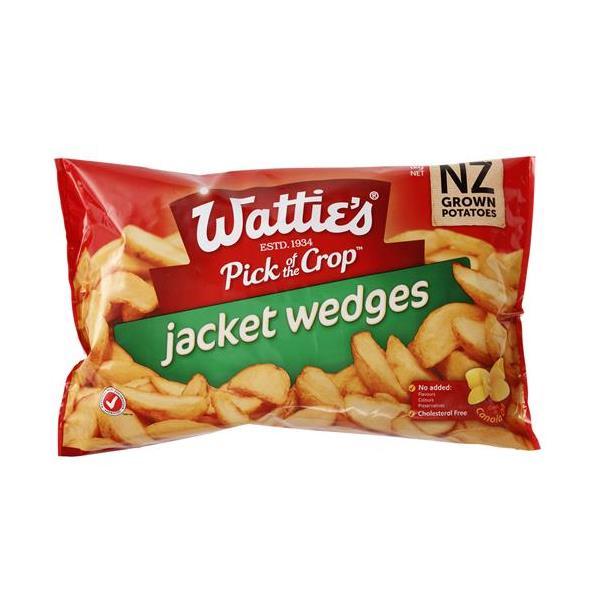 Wattie's Golden Heart Wedges Jacket Frozen 1kg