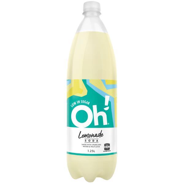 Oh Soft Drink Lemonade 1.25l