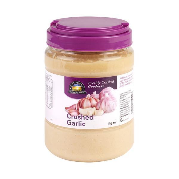 Fresh Produce Just Garlic Crushed jar 1kg
